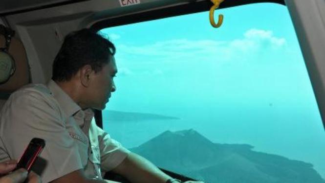 Menteri Kehutanan Zulkifli Hasan tinjau Taman Nasional Gunung Krakatau