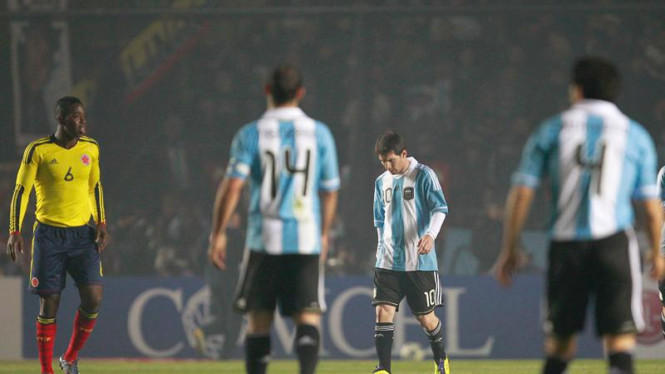 Copa America 2011; Argentina-Kolumbia