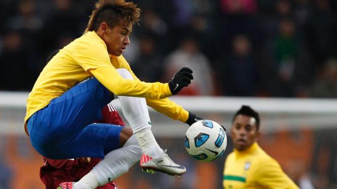 Gaya Rambut Neymar