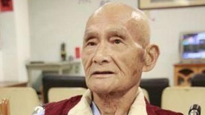 Hong Zhong Hai, kakek dermawan dari Taiwan.