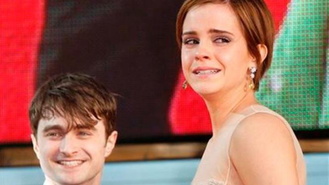 Harry Potter Daniel dan Emma Watson