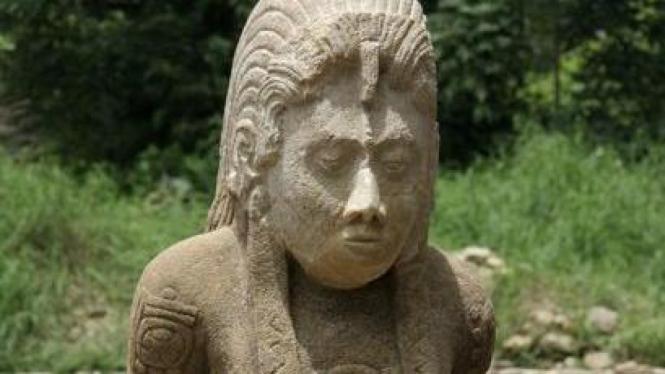 Arca batu ditemukan di Tonina, Meksiko