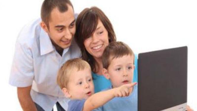Keluarga, Berinternet Sehat