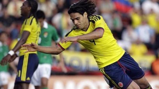 Striker Kolombia Radamel Falcao