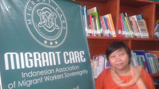 Direktur Eksekutif Migrant Care Anis Hidayah