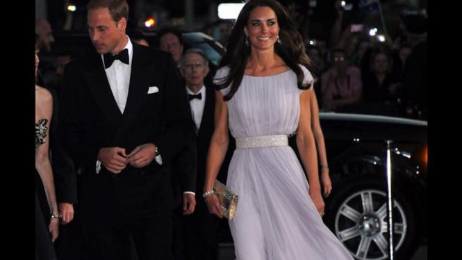 William dan Kate di AS
