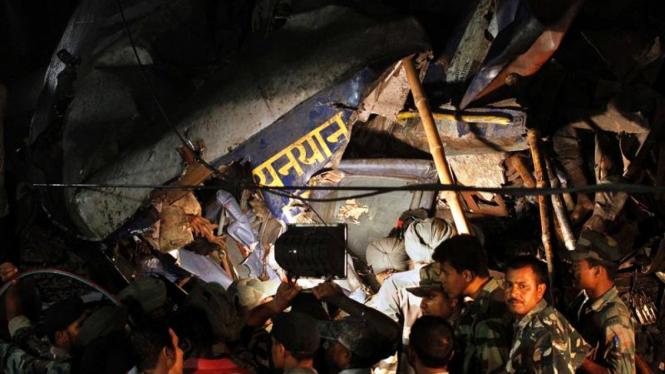 Kecelakaan Kereta Api di India