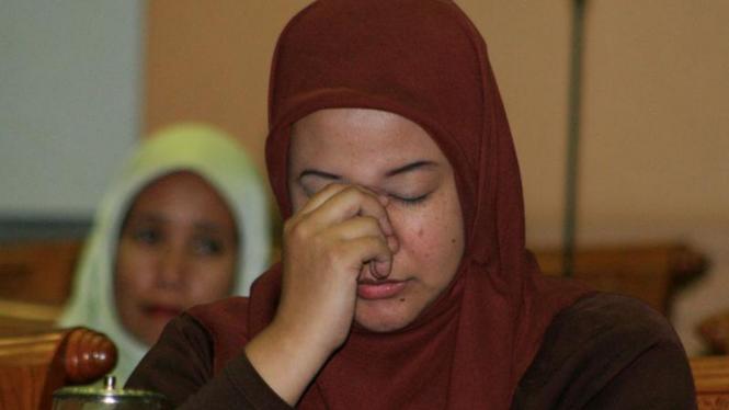 Prita Mulyasari di Komisi III DPR