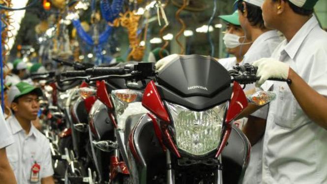 Pabrik sepeda motor Honda