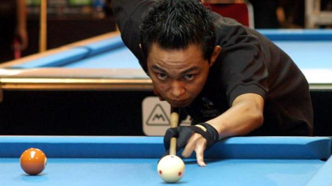 Atlet biliar di Guinness World Series of Pool Makassar