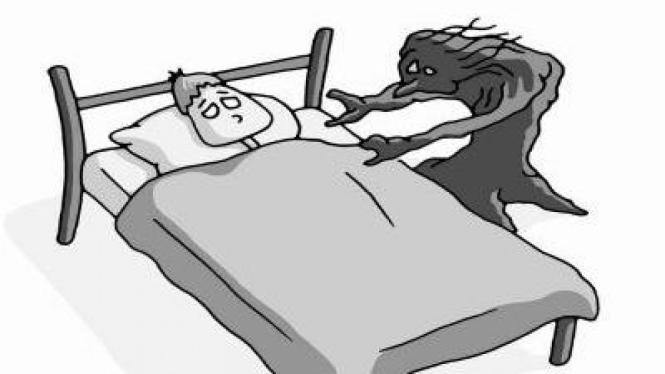 Sleep Paralysis, Tidur Lumpuh