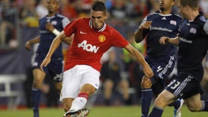 Federico Macheda (Manchester United/merah)