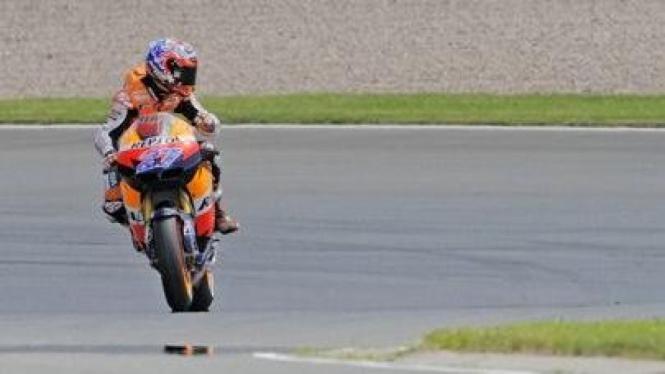 Casey Stoner di MotoGP Jerman