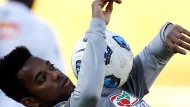 Robinho di Copa America 2011