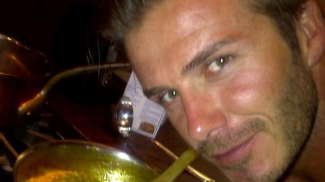 David Beckham Masak