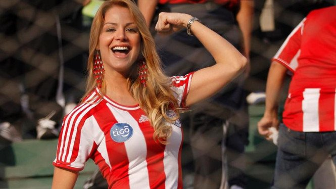 Wajah cantik di Copa America