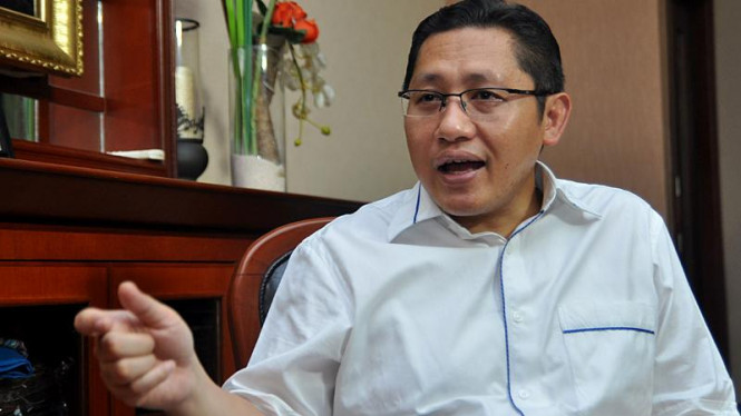 Ketua Umum Partai Demokrat, Anas Urbaningrum