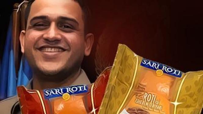 Ilustrasi ringtone 'Sari Roti' Nazaruddin