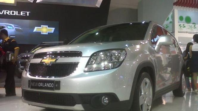 New Chevrolet Orlando di IIMS 2011