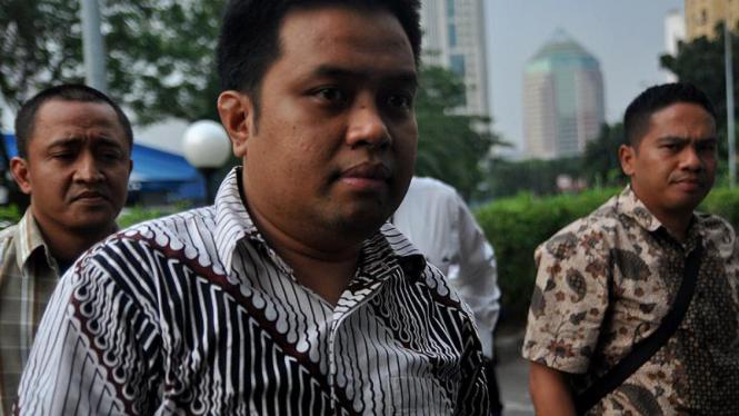 Masyhuri Hasan Jalani Rekonstruksi Surat Palsu Mahkamah Konstitusi