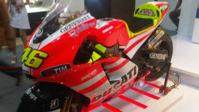 Replika MotoGP Ducati milik Valentino Rossi