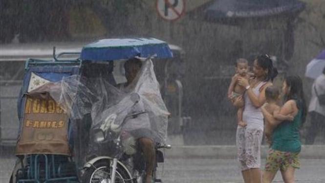 Badai Juaning di Filipina.