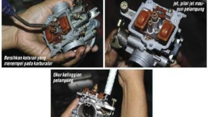 Merawat Mesin Motor