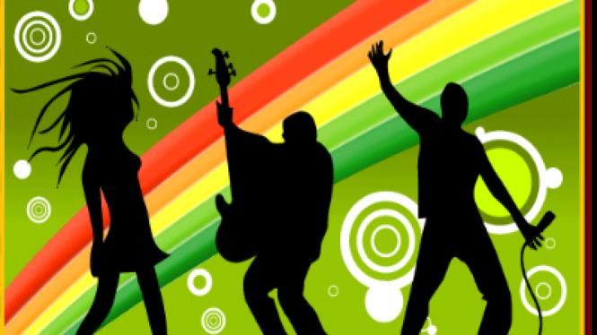 Ilustrasi Musik dan Anak Muda