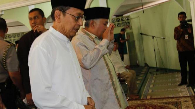 Wapres Boediono dan Ketua PP Muhammadiyah Din Syamsudin