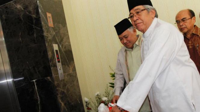 Ketua MPR Taufik Keimas dan Ketua PP Muhammadiyah