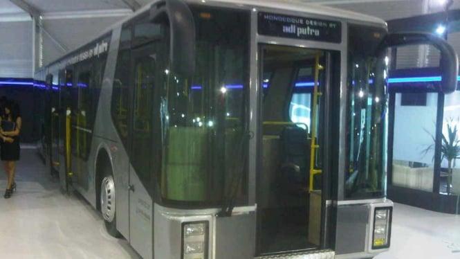 Bus Airport Apron Monocoque