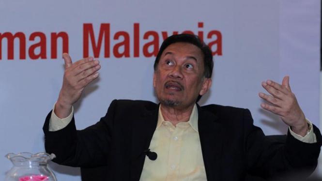 Mantan Wakil PM Malaysia, Datuk Seri Anwar Ibrahim