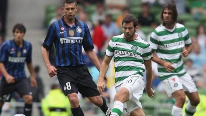 Inter Milan melawan Celtic di Dublin Super Cup