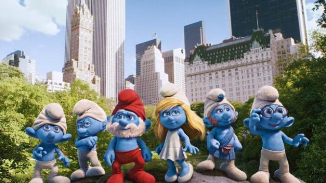 Film The Smurfs
