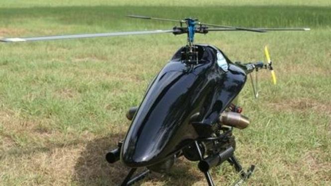 The Shadowhawk, Helikopter mini untuk melawan kriminal dan perompak