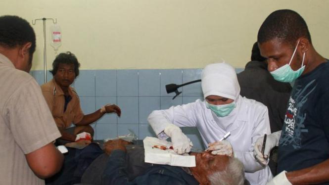 Korban penembakan di Jayapura , Papua