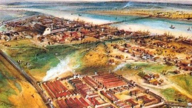 Londonium, peninggalan Romawi Kuno di London