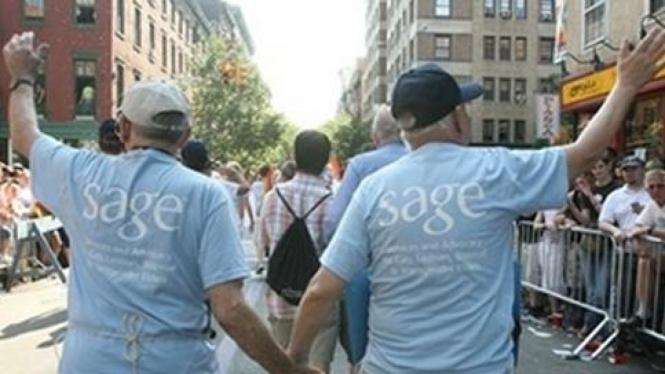 Pasangan gay, Dick Dehn, kiri, dan Gary Payne, kanan.