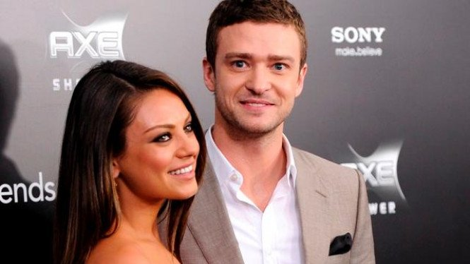 Mila Kunis dan Justin Timberlake
