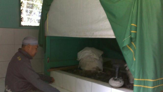 Makam Tuan Guru Haji Ahmat Tretetet di Lombok, NTB