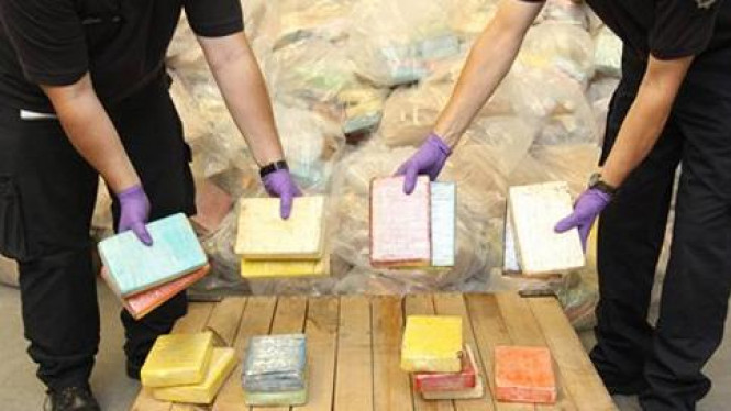 Kokain seberat 1,2 ton ditemukan di Inggris.