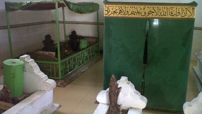 Makam Syah Yusuf, penyebar Islam di Afrika (Foto: Rahmat Zeena, Makassar)
