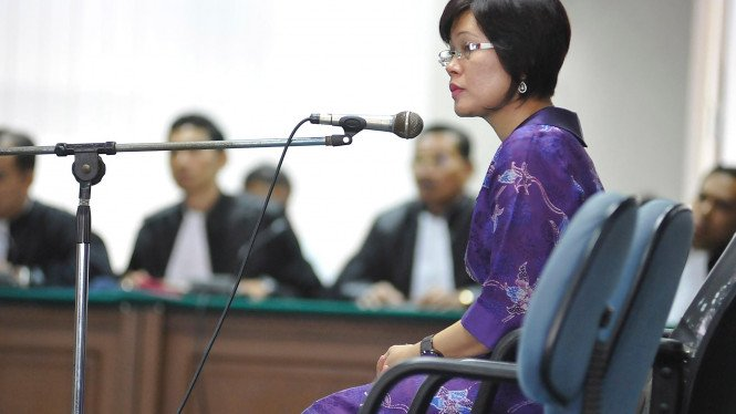 Terdakwa suap wisma atlet Mindo Rosalina Manulang