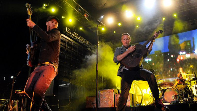 Konser Coldplay di Los Angeles