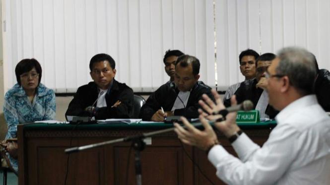 Terdakwa Suap Wisma Atlet SEA Games Mindo Rosalina Manulang