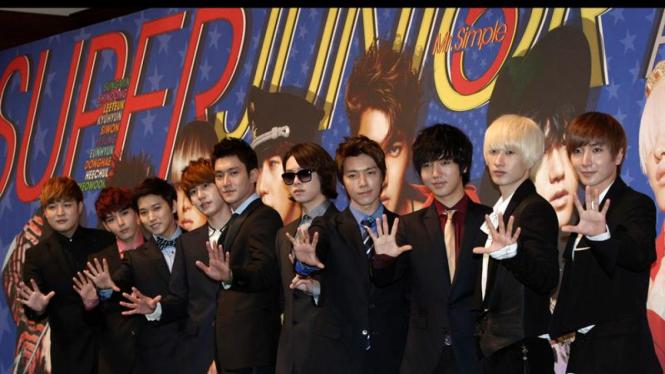 Super Junior luncurkan album Mr Simple