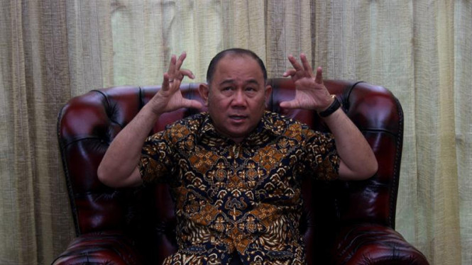 Ketua DPD Partai Demokrat DKI Jakarta Mayor Jenderal (Purn) H. Nachrowi Ramli