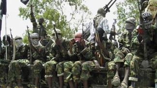 Militan separatis Somalia, al-Shabaab.