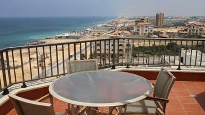 Arcmed Al Mashta, hotel berbintang 5 pertama di Gaza.