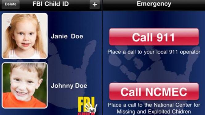 Child ID, aplikasi buatan FBI untuk membantu mencari anak hilang